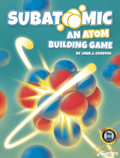 affiche Subatomic : an atom building game
