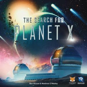 affiche À la Recherche de la Planète X