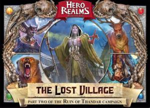 affiche Hero Realms: Le village perdu