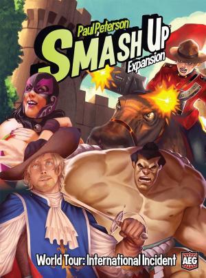affiche Smash Up: Tournée Mondiale – Incident Diplomatique