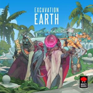 affiche Excavation earth