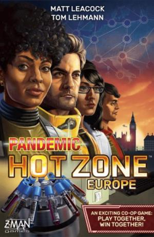 affiche Pandemic Zone rouge : Europe