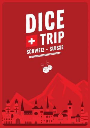 affiche Dice Trip: Switzerland