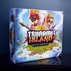 affiche Tsunami Island: Battle Royale