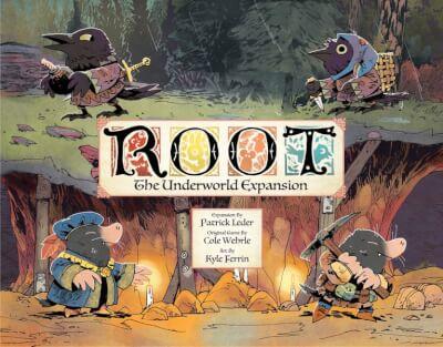 affiche Root : Monde souterrain