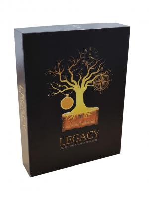 affiche LEGACY: Quest for a Family Treasure