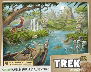 affiche Trek 12 - Amazonie
