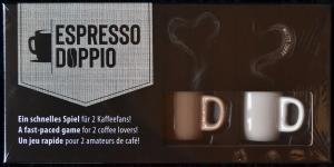 affiche Espresso Doppio