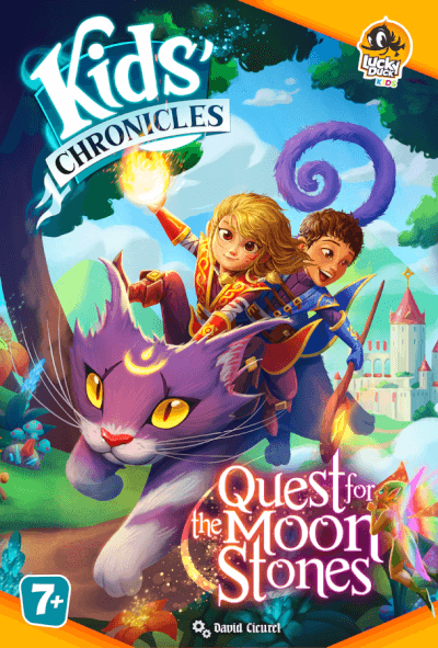 affiche Kids Chronicles: la quête des pierres de Lune