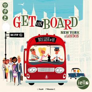 affiche Get on Board: New York & London
