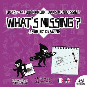 affiche What's Missing: Purple Version