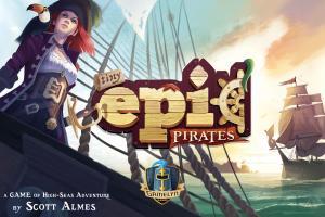 affiche Tiny Epic Pirates
