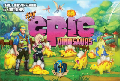 affiche Tiny Epic Dinosaurs