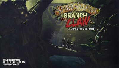 affiche Spirit Island: De Branches & De Griffes