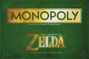 affiche Monopoly Zelda