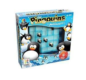 affiche Pingouins Patineurs