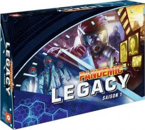 affiche Pandemic Legacy - Saison 1 - Boite Bleue
