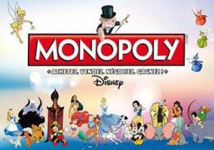 affiche Monopoly Disney Classique