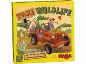 affiche Taxi Wildlife