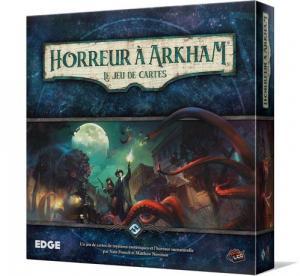 affiche Horreur à Arkham : le jeu de cartes