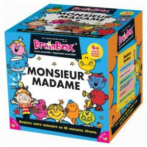 affiche Brainbox: Monsieur / Madame