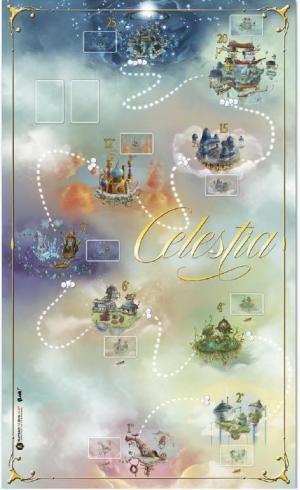 affiche Celestia Tapis de Jeu