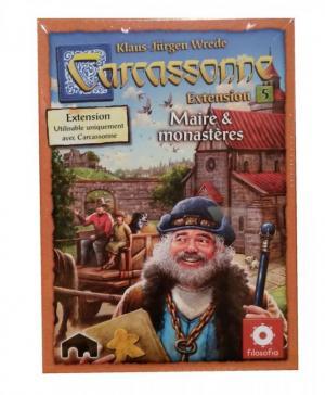 affiche Carcassonne : Maires et Monastères Nouvelle Edition