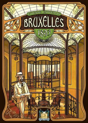 Affiche Bruxelles 1893