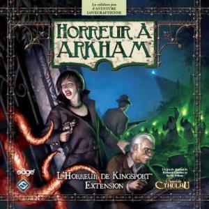 Affiche Horreur à Arkham : L'Horreur de Kingsport