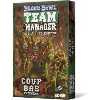 Affiche BloodBowl Team Manager : Coup Bas