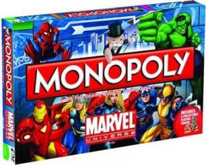 Affiche Monopoly Marvel