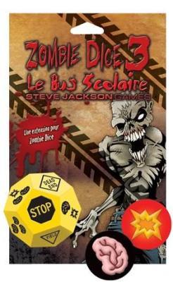 Affiche Zombie Dice: Le Bus Scolaire