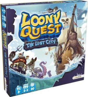 Affiche Loony Quest: The Lost City