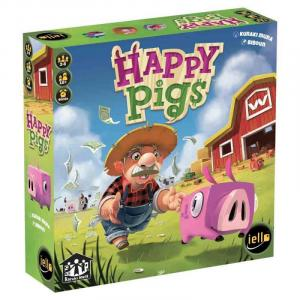Affiche Happy Pigs
