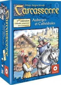 Affiche Carcassonne : 1 ère extension