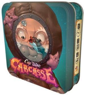 Affiche Cap'taine Carcasse