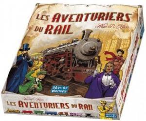 Affiche Les aventuriers du rail : USA