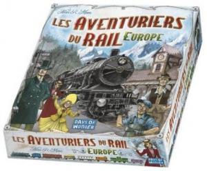 Affiche Les Aventuriers du Rail : Europe