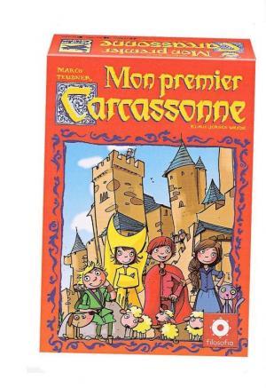 Affiche Mon Premier Carcassonne