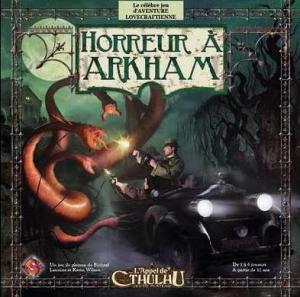 Affiche Horreur à Arkham