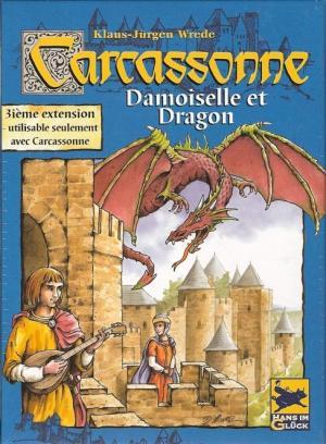 Affiche Carcassonne : Princesses et Dragon