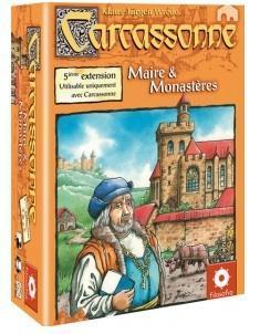 Affiche Carcassonne : Maires et Monastères