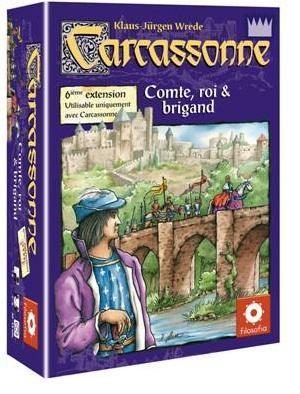Affiche Carcassonne: Comte, Roi et Brigand