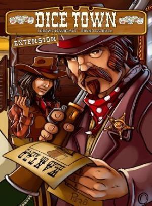 affiche Dice Town: l'extension