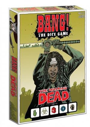 Affiche Bang ! Le Jeu de Dés The Walking Dead