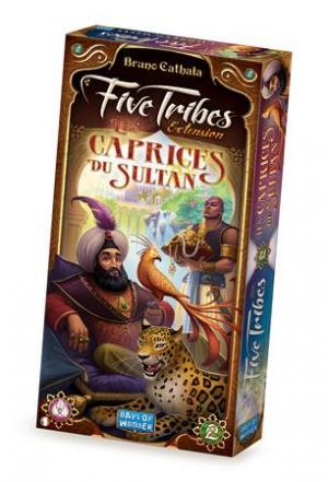 Affiche Five Tribes:Les Caprices du Sultan