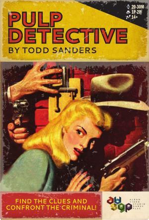 Affiche Pulp Detective