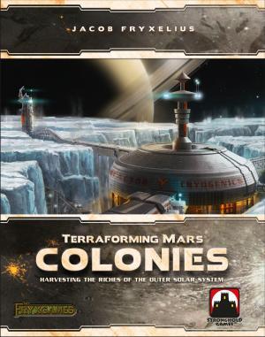 Affiche Terraforming Mars - Colonies