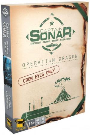 Affiche Captain Sonar: Operation Dragon