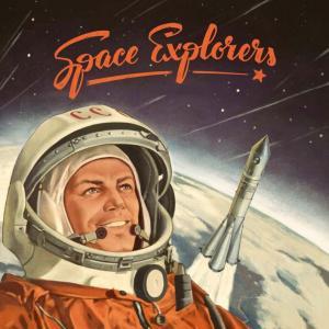 Affiche Space Explorers